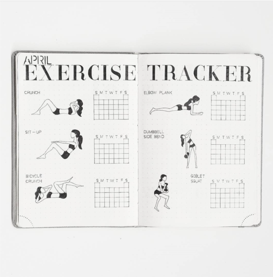 exercise tracker aimibujo
