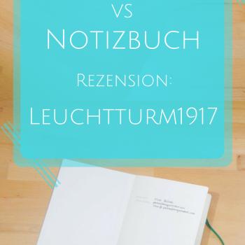 Notizbuch Rezension: Leuchtturm1917